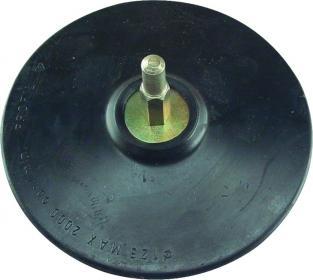 Gum.disk čičak, za bušilicu 125mm