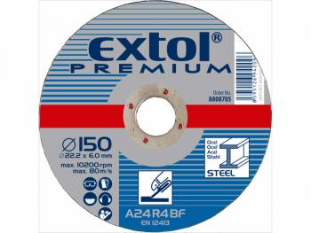 Brusna ploča čelik 115x6mm , EP