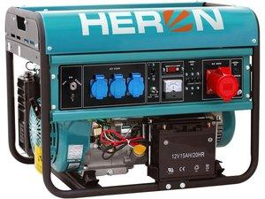 AGREGAT 6,5kW, 3f, elekrični start, 15HP Heron