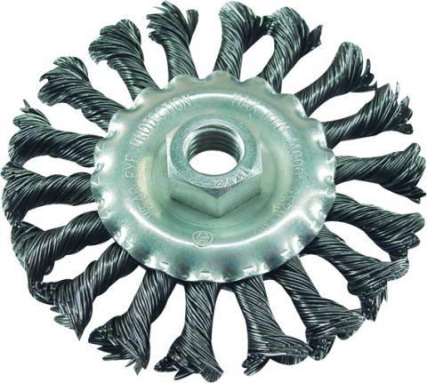 Žičana četka kružna 100mm, M14x2mm , EC