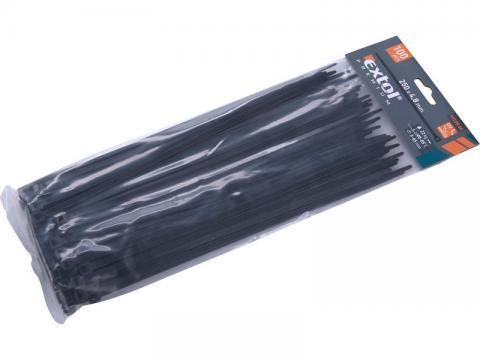 PVC trake 250 x 4,8mm (crne ) , EP
